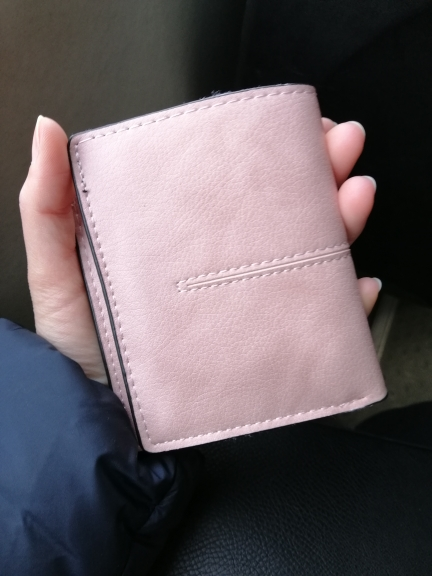 Aelicy Luxury pu leather solid wallet female purse wallet female famous brand card holders new design short hasp women's purses photo review