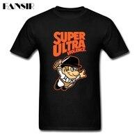 Dostosowane Super Ultra Przemoc Normalny T Koszula męska Anime Niestandardowe Bawełniane Z Krótkim Rękawem T Shirt 3XL