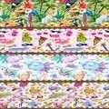 Розовые летние фрукты животные скатерть подстилка из ткани украшения для дома для кухни столовой Свадьба День рождения 40X140 см