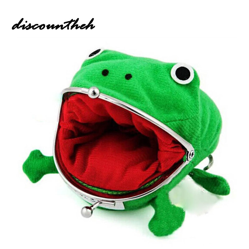 New Arrival Frog Wallet Cartoon Wallet Coin Purse Manga Flannel Wallet Cute Purse Coin Holder  new arrival cartoon lilo