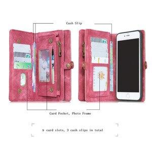 Image 2 - יוקרה עור מקרה עבור סמסונג S10 S10E S9 S8 NOTE9 S10 בתוספת s20 הערה 20 10 Flip מקרה ארנק כיסוי מגנט עסקים טלפון מקרה