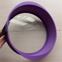 Round Silicone Cake Bread Baking Pan Tray With Glass Base Mousse Fondant Cheese Cake Molds DIY