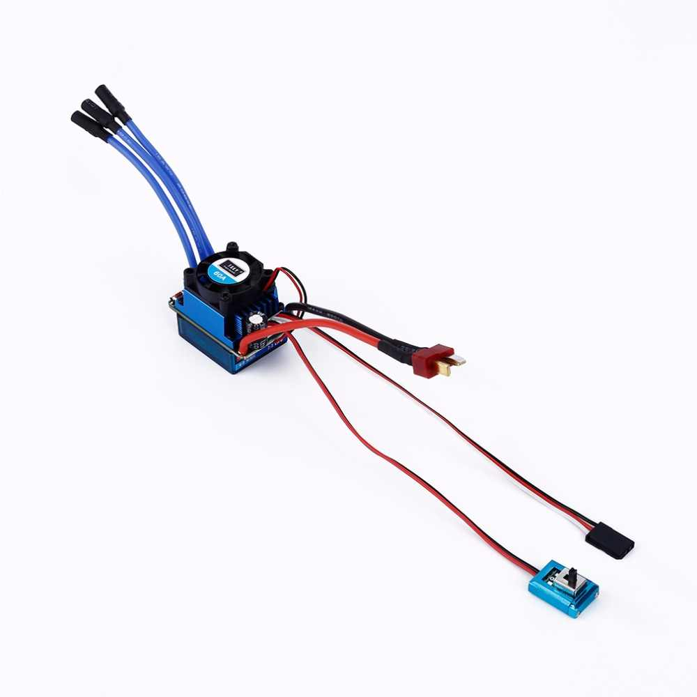 1 stks Racing 25A 35A 60A SL Brushless Speed Controller ESC voor RC 1/10 1:10 1:12 Auto Vrachtwagen Drop freeship