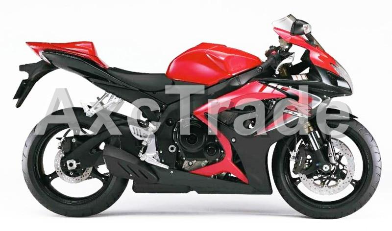 Motorcycle Fairings For Suzuki GSXR GSX-R 600 750 GSXR600 GSXR750 2006 2007 K6 06 07 ABS Plastic Injection Fairing Bodywork BK