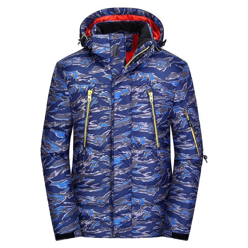 Zuversichtlich 2018 Mode Drucken Unten Jacke Winter Casual Herren Unten Mäntel Dicken Feder Parka Männer Outwear Unten Jacke Männliche Kleidung Jk-5175 Edler Schmuck
