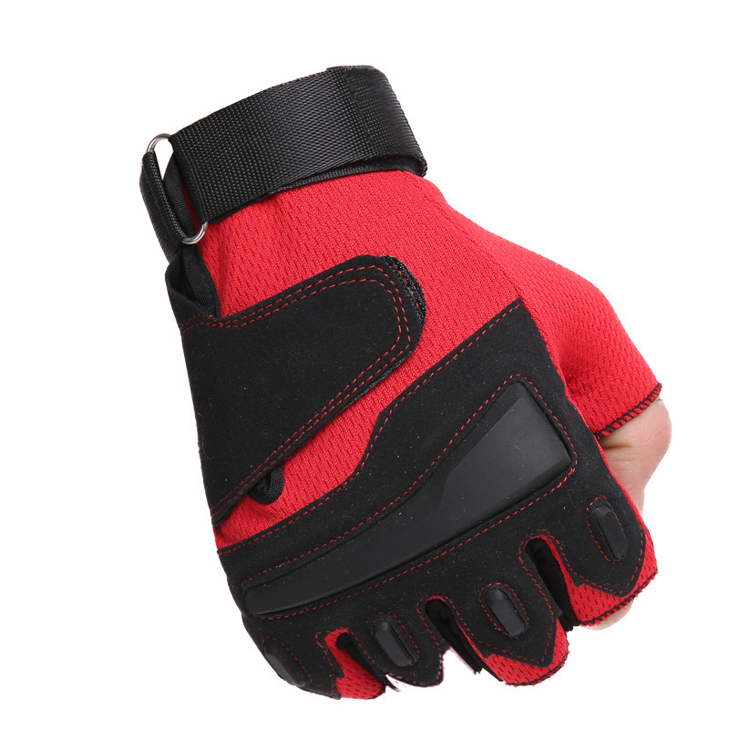 Military Shooting Hunting Paintball Motorcycle Tactical Training Half Gloves