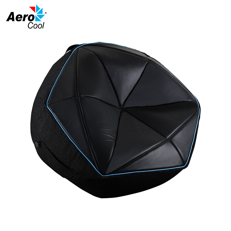 Bean bag Aerocool P7-BB1 (cover without filler), up to 100 kg, Denim makeup organizer travel bag women cosmetic bags summer dumpling clutch women packages waterproof cosmetic bag handbag