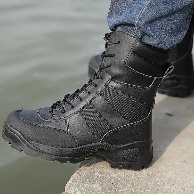 Automne L'armée De Cheville Bota Combat Travail Ville Chaussures sandy Black Militaire Hommes Masculina Moto Tactique Satety Bottes gWqdx6gU