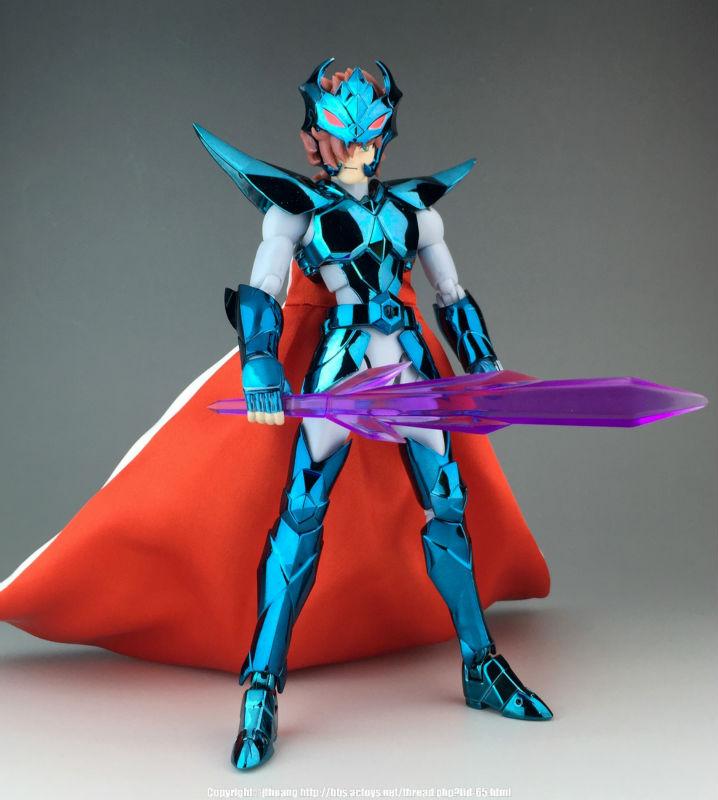 Saint Seiya Myth Cloth EX  Alberich Megrez Delta Asgard CS Model