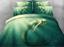 Mermaid Bedding set Luxury duvet cover bed sheet sheets linen bed in a bag California King Queen size full twin Designer 4PCS feather duvet cover bedding set luxury california king queen size sheets bed in a bag sheet linen full twin double single 4pcs