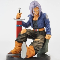 Original Banpresto Dragon Ball ERICK SOSA BWFC2 Trunks Budokai PVC action figure model Figurals Dolls