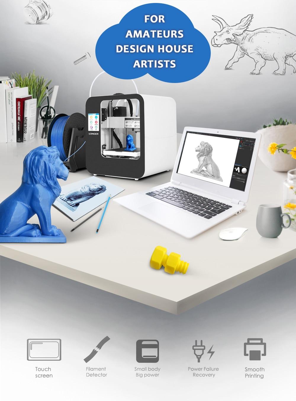 Alt Longer3D Cube2.0 FDM 3D printer-2
