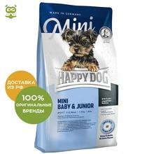 Happy Dog Supreme Young Mini Baby&Junior корм для щенков мелких пород, Птица, 1 кг.