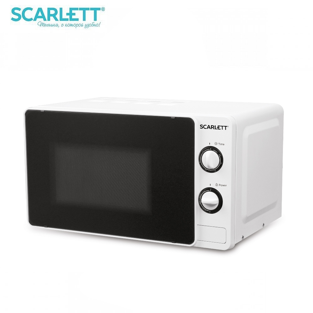 Microwave oven Scarlett SC-MW9020S02M 700 W Microwave oven kitchen Household appliances for kitchen цена