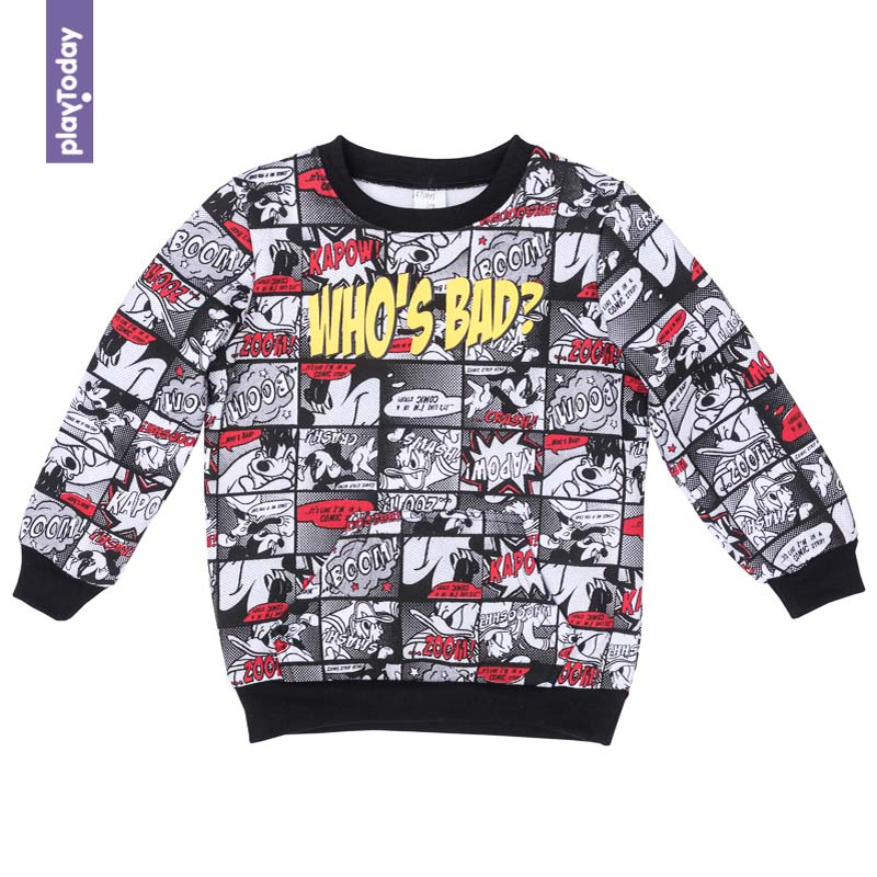 Hoodies and Sweatshirts PLAYTODAY for boys 571001 Children clothes kids clothes hoodies