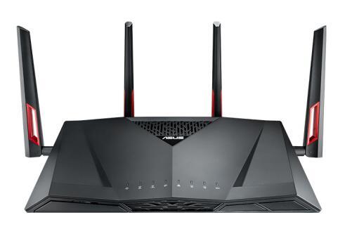 ASUS RT AC88U AC3100 двухдиапазонный гигабитный WiFi игровой роутер с MU MIMO, поддержка сетевой безопасности AiProtection от Trend Micro