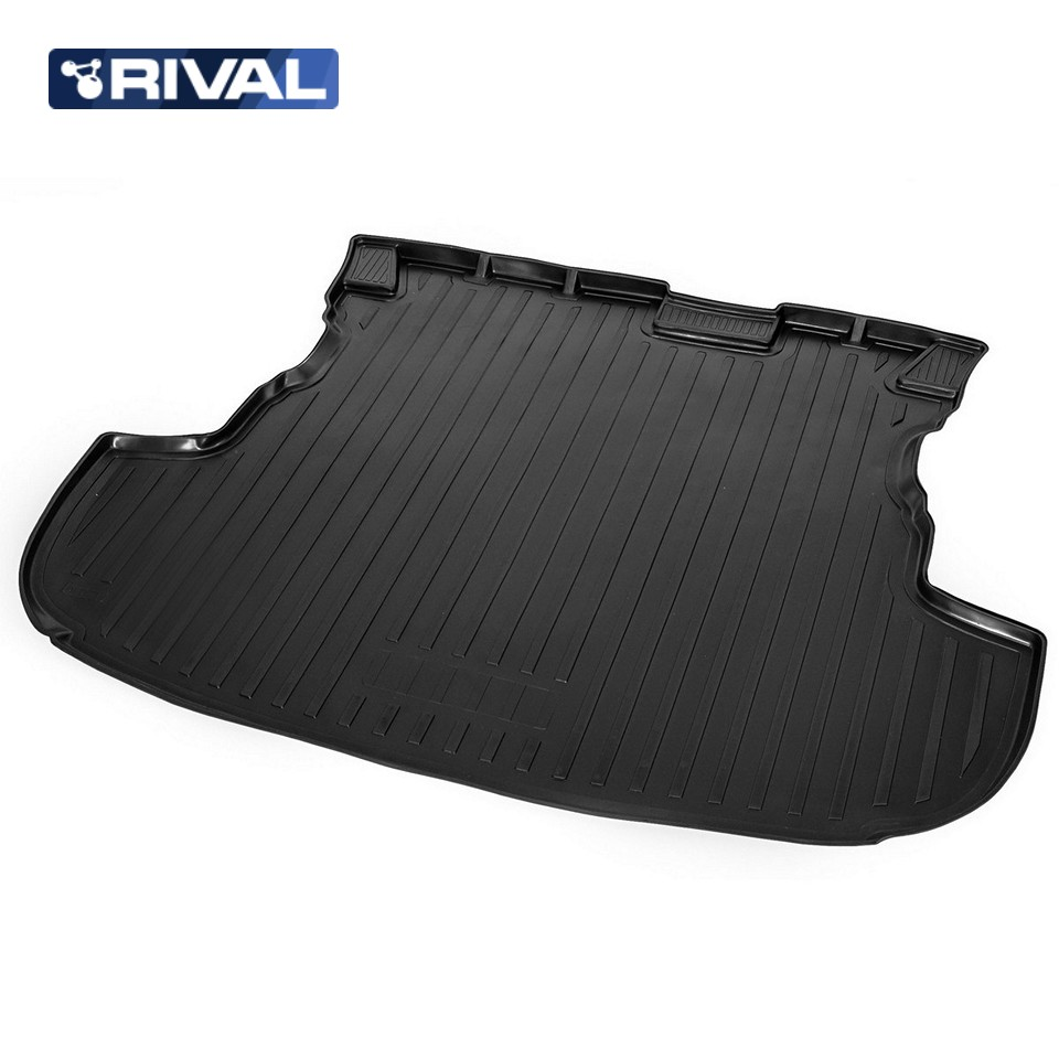 For Mitsubishi Outlander 2013-2019 trunk mat for cars WITHOUT ORGANIZER Rival 14002004 for mitsubishi outlander 2013 2019 trunk mat for cars with organizer rival 14002003