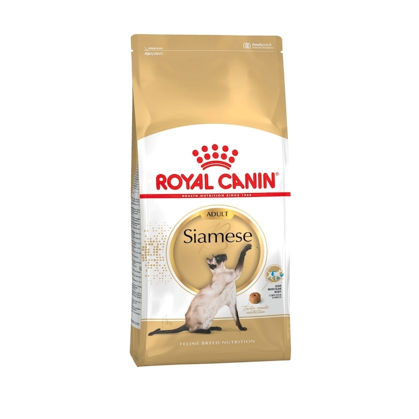 Cat Food Royal Canin Siamese Adult, 2 kg royal canin veterinary diet renal rf 23