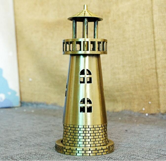 14 Available Famous Building Model Vintage Home Decoration Bronze World Tourist Souvenir Model Xmas Gifts Lighthouse Venus XM10 in Figurines Miniatures from Home Garden