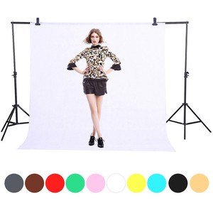 Image 1 - 1.6X1/2/3 M 10 couleurs Non tissé vert écran photographie arrière plan photo Chroma arrière plan accessoires Studio