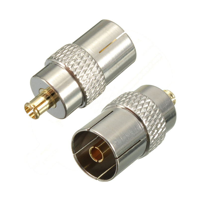 2017 MCX Male Plug to Coax Coaxial Female Socket TV Antenna Aerial Adapter Converter Connectors Terminal r113082097 rf connectors coaxial connectors mcx str plg cr mr li