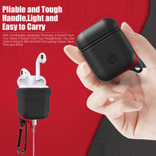 Get more info on the TPU Silicone Bluetooth Wireless Earphone Protective Case for AirPods Waterproof Cover Skin Accessories for AirPods Charging Box