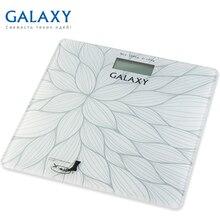 Весы напольные Galaxy GL 4807 (Максимальная нагрузка до 180кг, точность измерения 100 грамм, LCD-дисплей, ультратонкий дизайн, автовкл/откл, сверхточная сенсорная система датчиков)