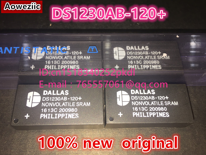 (5PCS) (10PCS) (20PCS)100% new  original  DS1230AB-120+ DS1230 EDIP28 clock timing IC флешка usb 32gb transcend jetflash 710 ts32gjf710s серебристый