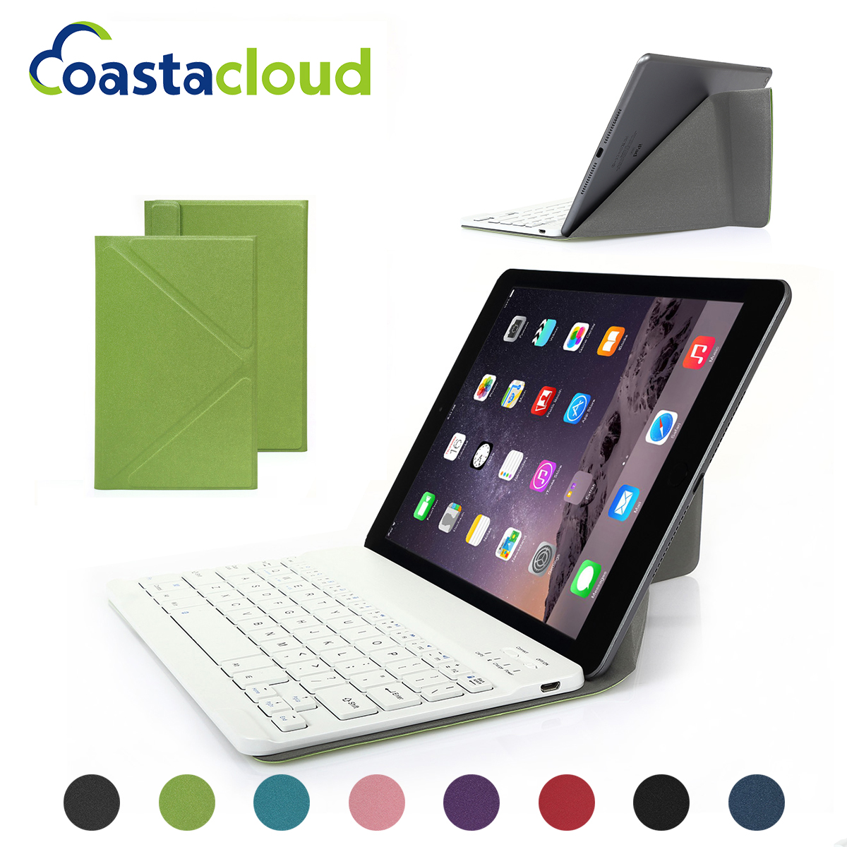 Universal Magnetic Stand Case Cover for Samsung Galaxy Tab S 10.1 With Detachable ABS Bluetooth Wireless Keyboard