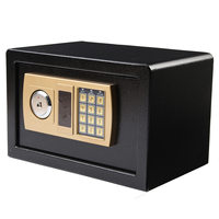 Safurance Luxury Digital Depository Drop Cash Safe Box Jewelry Home Hotel Lock Keypad Black Safety Security