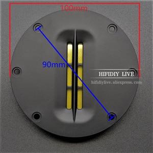 Image 2 - HIFIDIY LIVE hifi 4 inch Tweeter Speaker Unit 8 OHM 30W Treble Loudspeaker AL 100 Super belt type high loudspeaker