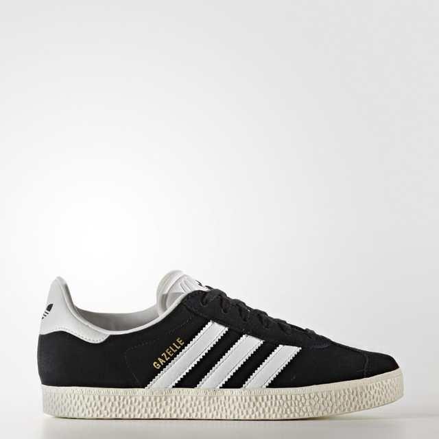 Sneakers Zapatillas y Blanco Niño Adidas Gazelle Original Negro BB2502 gyvb7f6Y