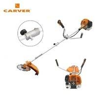 Коса бензиновая CARVER GBC-033MS (разъемн.Easy-start, ранец, диск 48зуб, Easy-head, леска 2.4)
