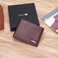 Modoker Smart Wallet Genuine Leather with alarm GPS Map, Bluetooth Alarm Men Purse, Black 1
