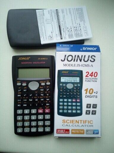 Student's Scientific Calculator AAA Batteries (Not included) Pocket  Calculator Calculators Scientific for School Meeting