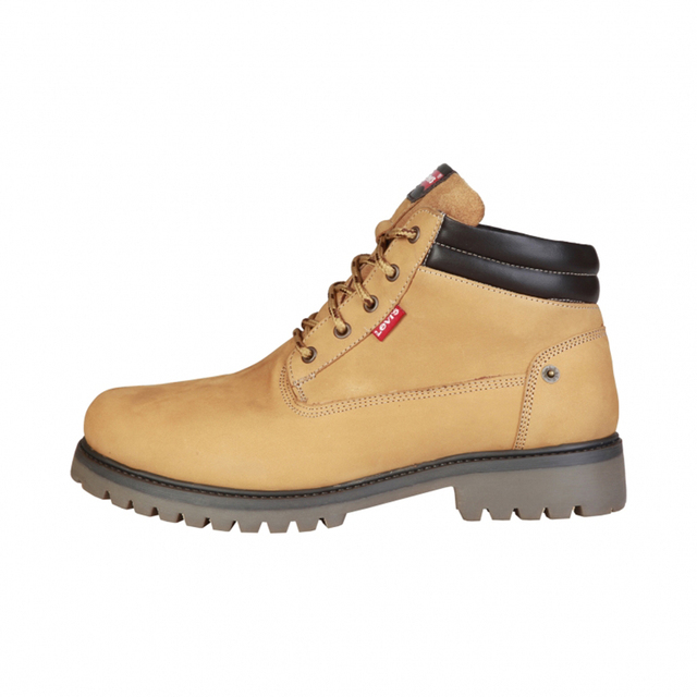 82aeb90c30f7c Levi's Andy Yellow Leather Ankle Boots-in Men's Boots from Shoes on ...