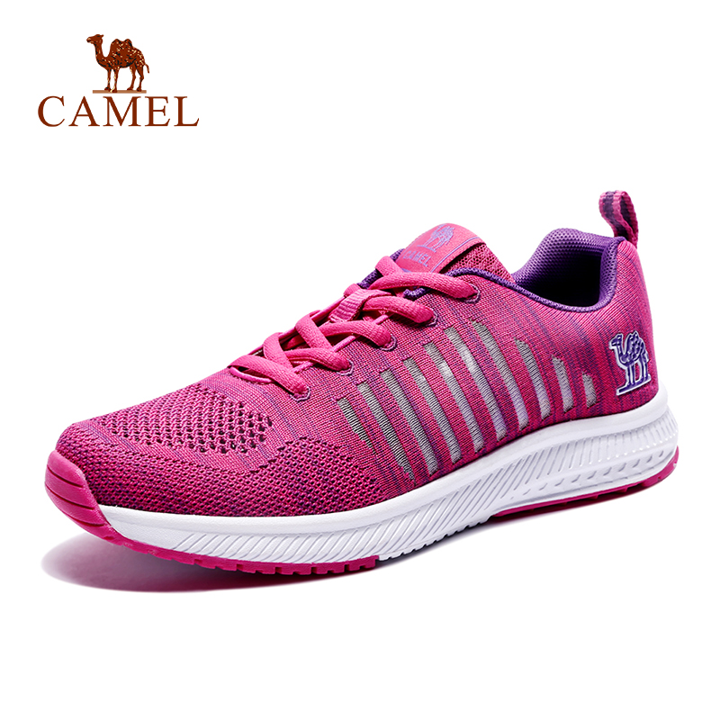 CAMEL Women Men Breathable Mesh Lightweight Anti slip Comfortable Running Shoes Sports Walking Jogging Outdoor Sports