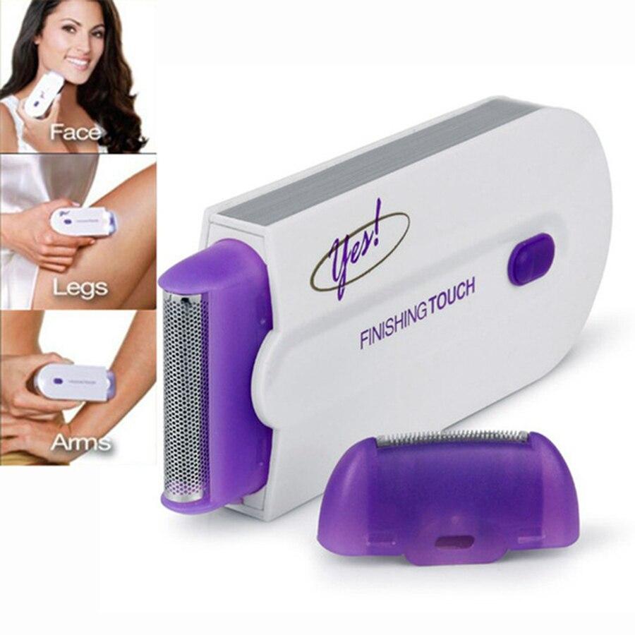 NEUE Laser epilierer frauen Wiederaufladbare Haar Remover Glatte touch Haar Entfernung Instant & Schmerzen Freies Laser Sensor Licht Sicher Rasierer