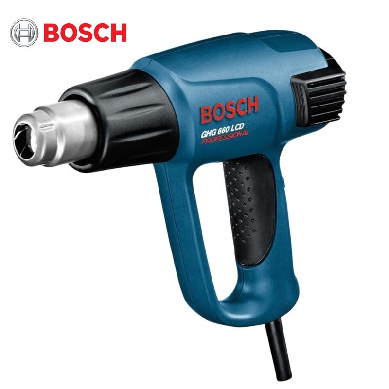 Technical Hairdryer Bosch GHG 660 LCD 708703 фен технический bosch ghg 660 lcd 2300вт