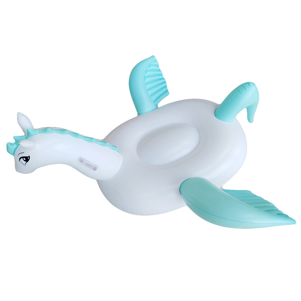Giant Pool Floats Inflatable Horse Pegasus Swimming Float Ride-on Beach Toys Water Fun Mattress Boia Piscina