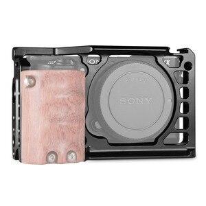 Image 2 - SmallRig Dslr Rig Camera Cage per Sony A6500 /A6300 Macchina Fotografica In Lega di Alluminio Cage W/ Arca Swiss QR piatto (Versione di aggiornamento) 1889