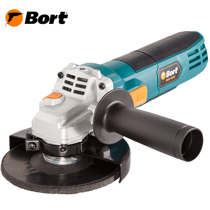 BORT Angle Grinder bulgarian USHM Grinding machine Electric grinder Angle Grinder grinding Power or cutting metal portable Woods Steel Power Tool Warranty BWS-800X air compressor die grinder grinding polish stone kit air angle die grinder kit pneumatic tools