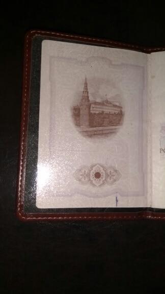 Vintage Passport Holder 8 colorsTravel Passport Holder Leather Russia Passport cover men Vintage Ticket Holder passport cover photo review