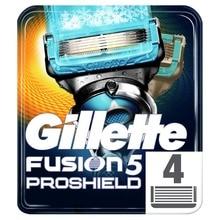Сменные Кассеты Для Мужской Бритвы Gillette Fusion ProShield Chill, 4Шт.