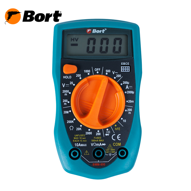Digital Multimeter Bort BMM-800 xl830l lcd digital voltmeter ohmmeter ammeter ohm multimeter tester