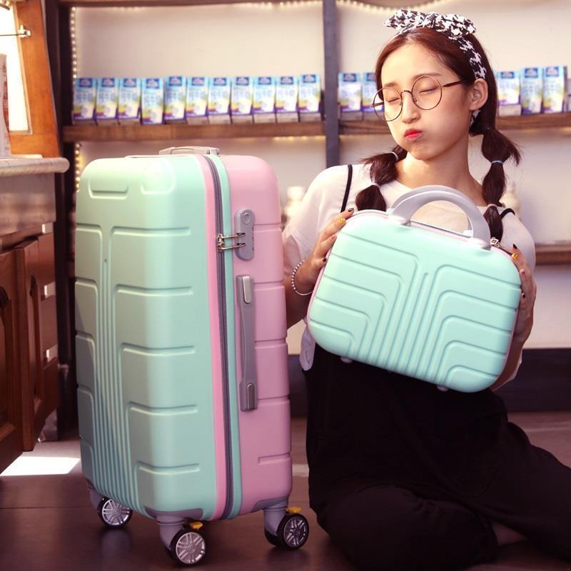 Carry On Valise Enfant And Travel Bag Mala Viagem Com Rodinhas Trolley Koffer Carro Maleta Luggage Suitcase 2022242628inch