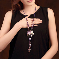Natural Stone Party Accessories Handmade Jewelery Gift Necklaces & Pendants Fashion Choker Jewelry For Women Chain Necklace