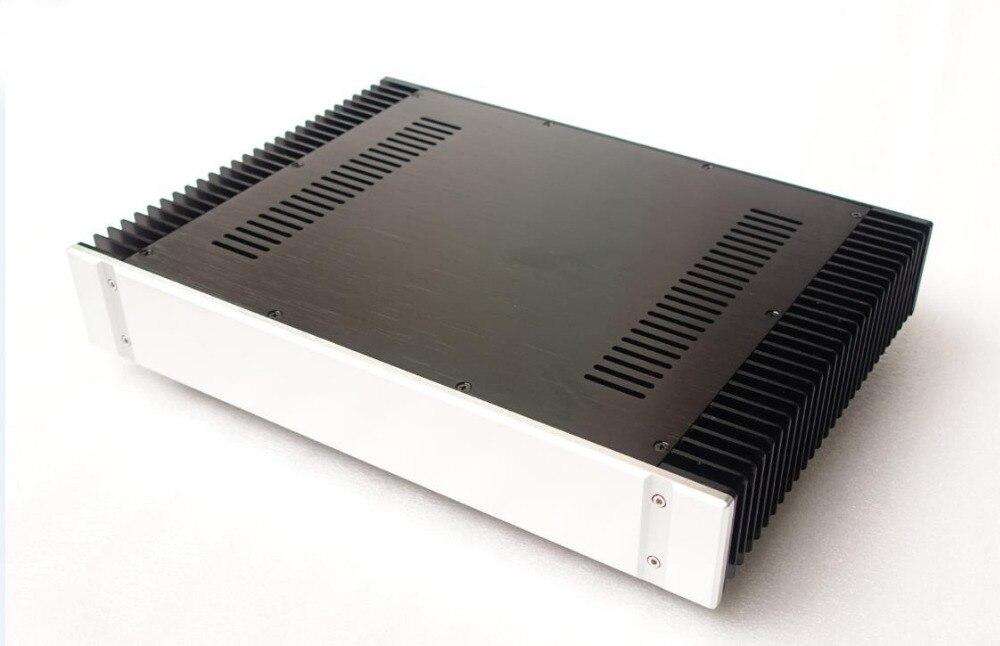 BZ4307A tout en aluminium amplificateur de puissance châssis bricolage Auido Amp enceinte HiFi classe A amplificateur boîtier coque 430 MM * 70 MM * 311 MM