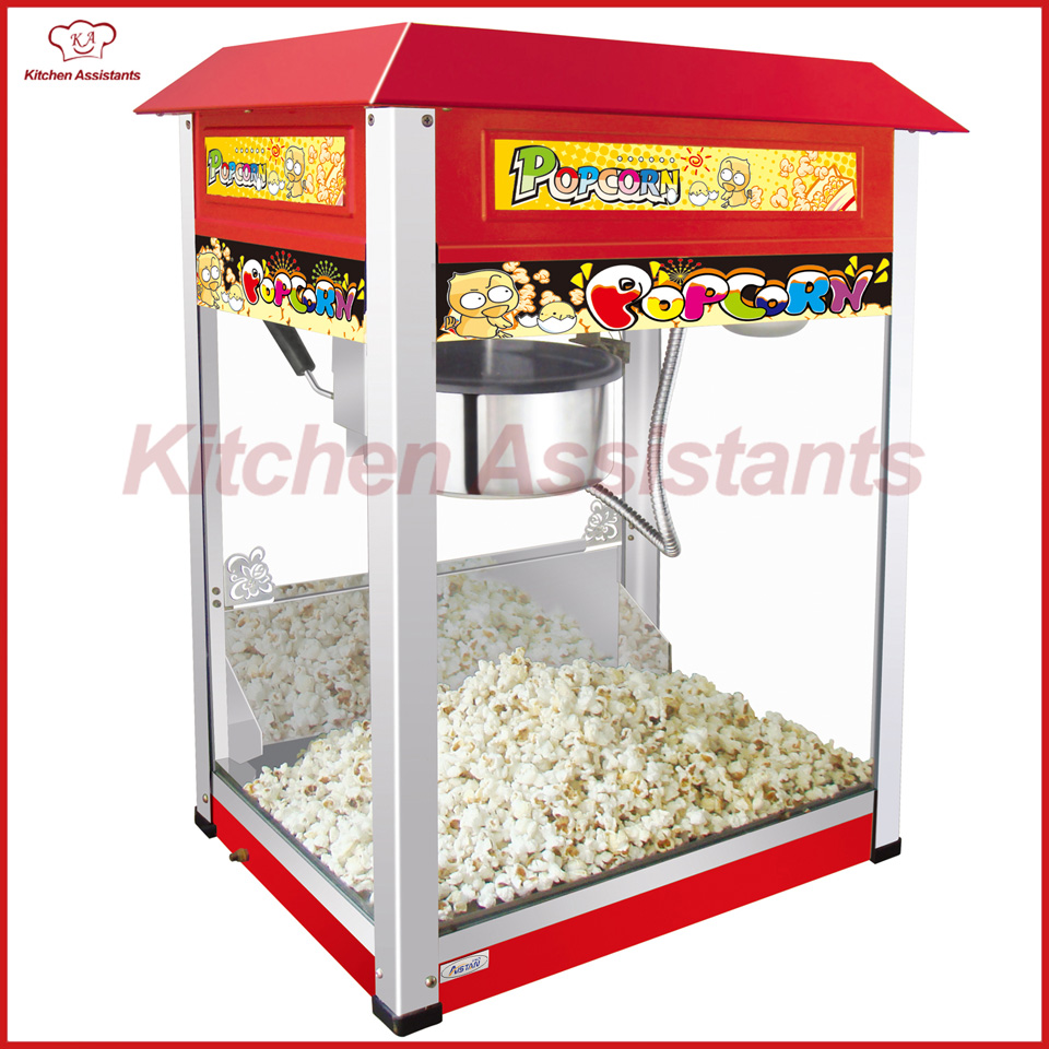 VBG802 Counter top Electric Professional automatic popcorn machine maker with big volume vbg1708 professional automatic popcorn machine maker with big volume 8oz series