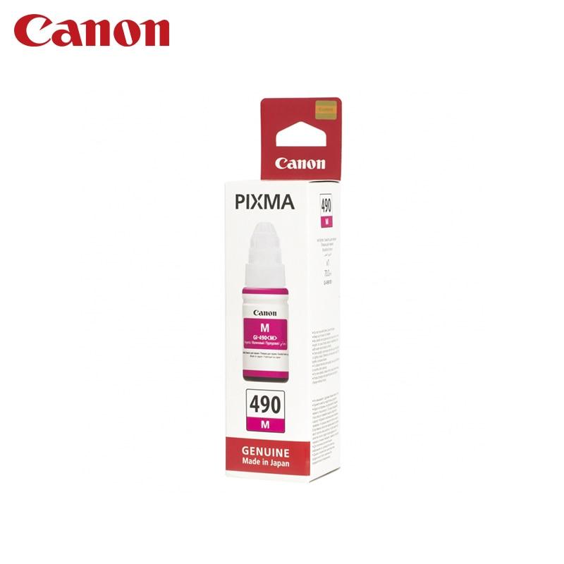 Cartridge Canon GI-490 M (for G1400/G2400/G3400) принтер g1400